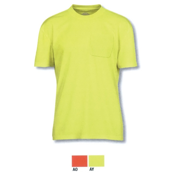 E-Vis Short Sleeve Pocket T-Shirt