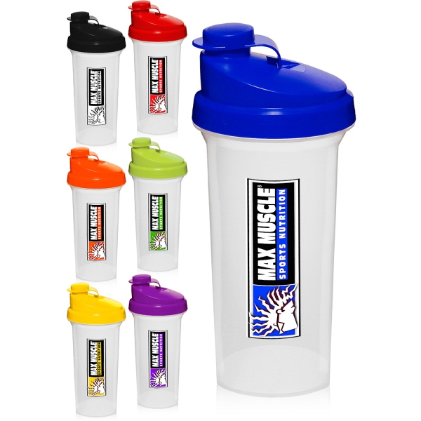 25 oz. Plastic Shaker Bottles