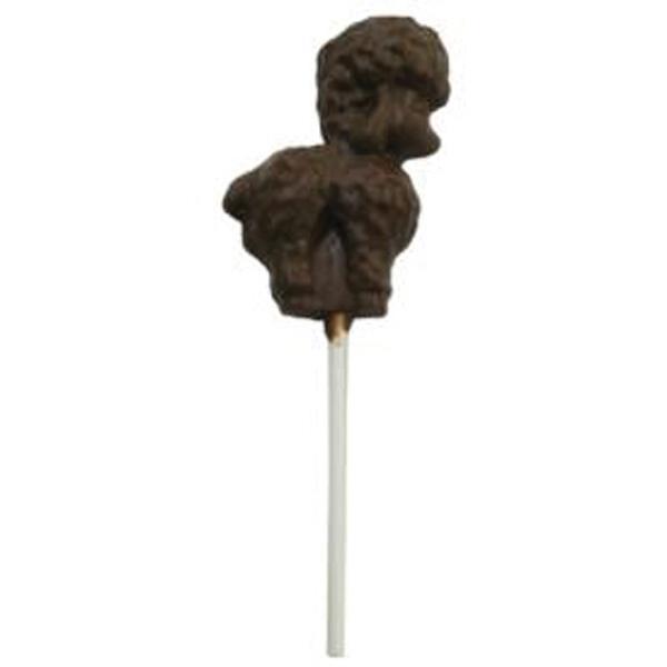 Chocolate Poodle - On A Stick