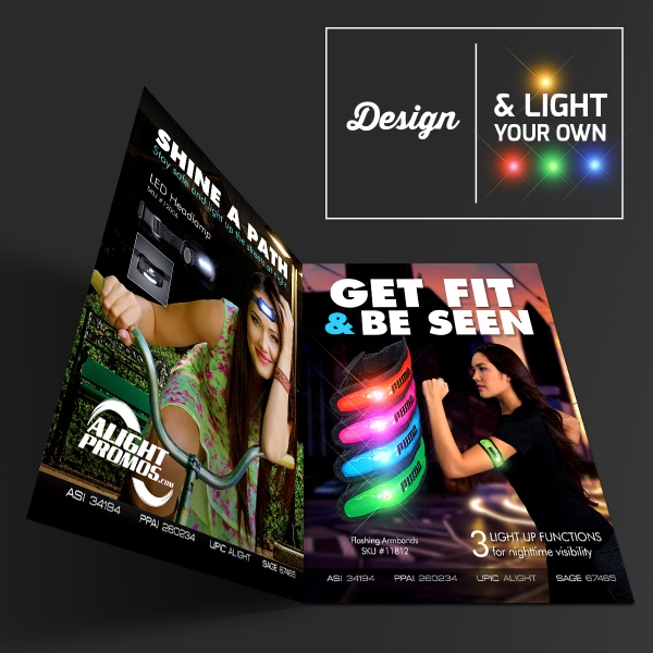 "8.5"" x 11"" LED Large Magazine Flyer"