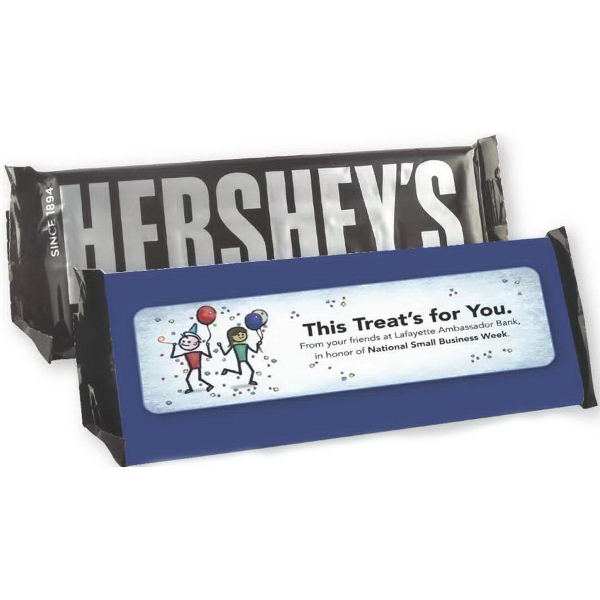 Overwrapped Hershey (R) Candy Bar