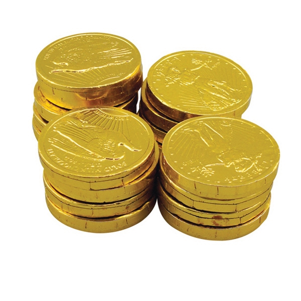 1.9 Oz Bag Of Chocolate Money Coins