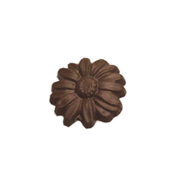 Chocolate Daisy Large Round