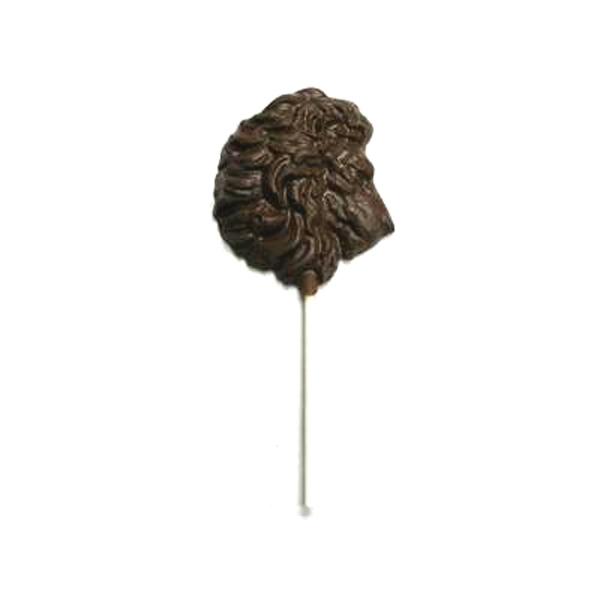 Chocolate Lion Head - On A Stick