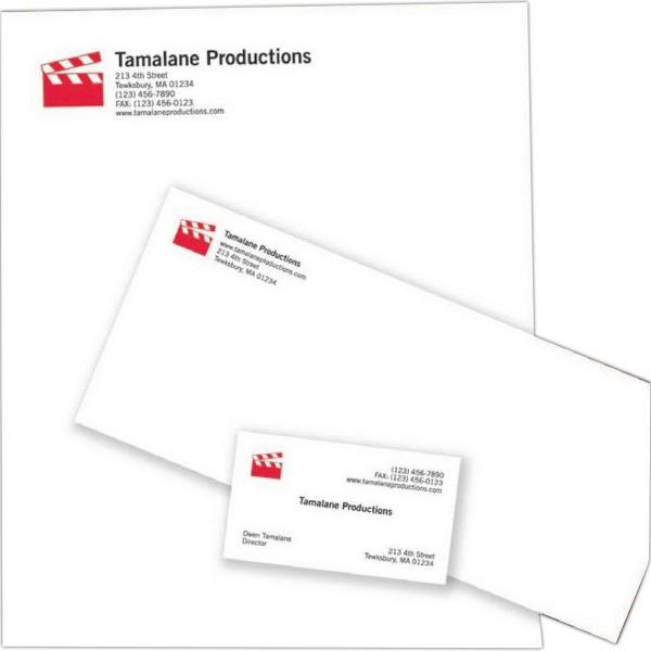 Letterhead, second sheet, blank, Preferred