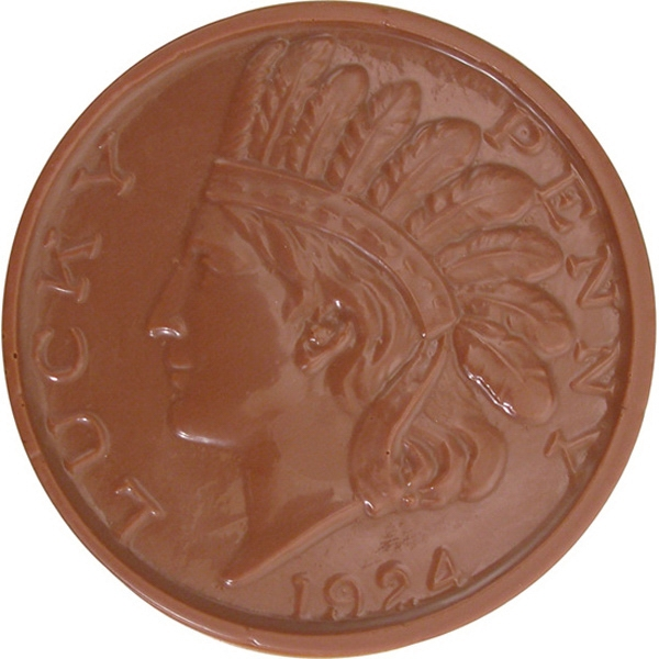 Chocolate Indian Head Coins Small
