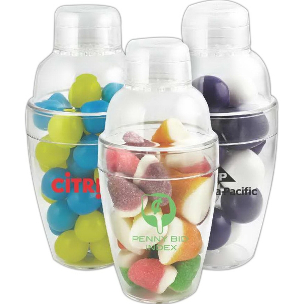 Cocktail Shaker with Large Gumballs