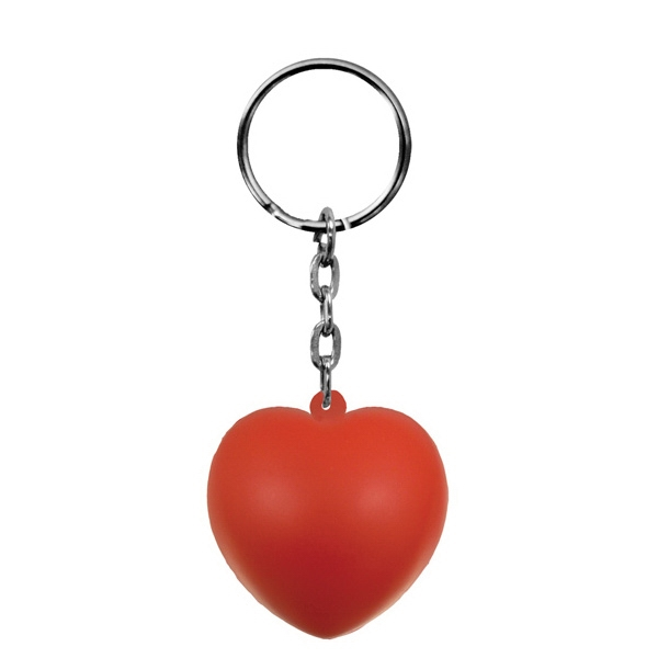 Foam Key Chain-Heart