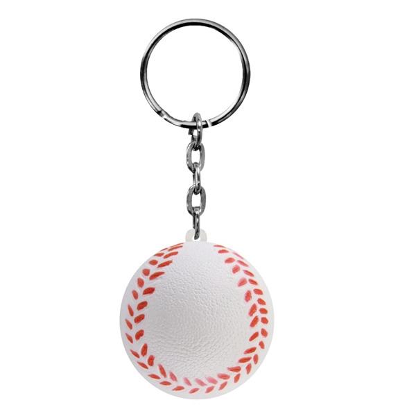 Foam Key Chain-Baseball