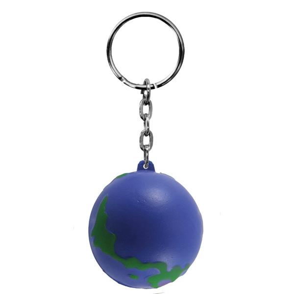 Foam Key Chain-Globe