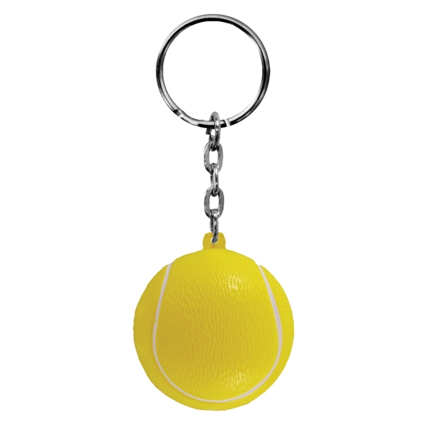 Foam Key Chain-Tennis Ball