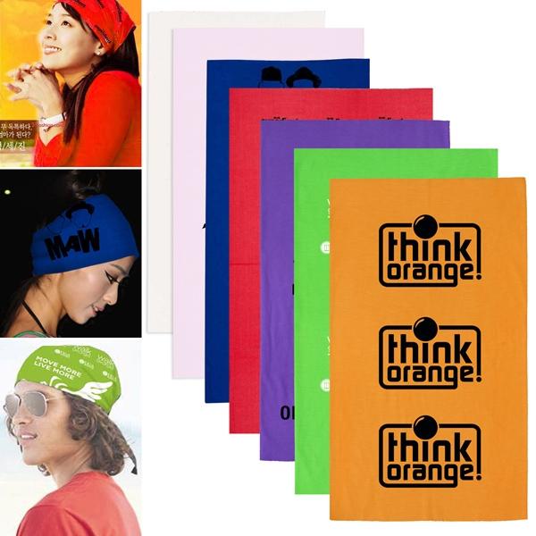 The Fandana (TM) Multi-Functional Head and Neck Wear