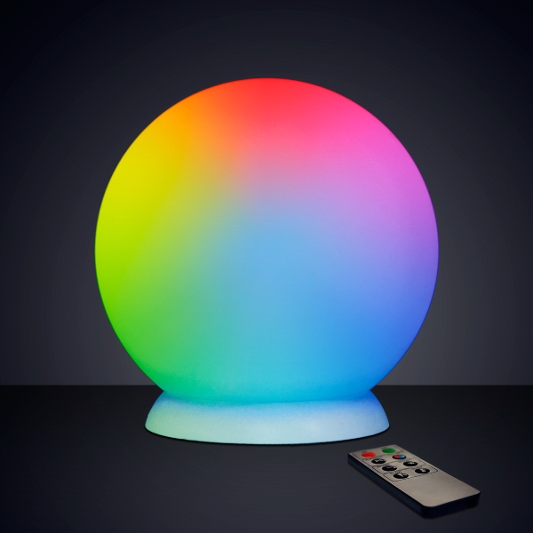 "10""  Floating LED ball with Charger & Remote"