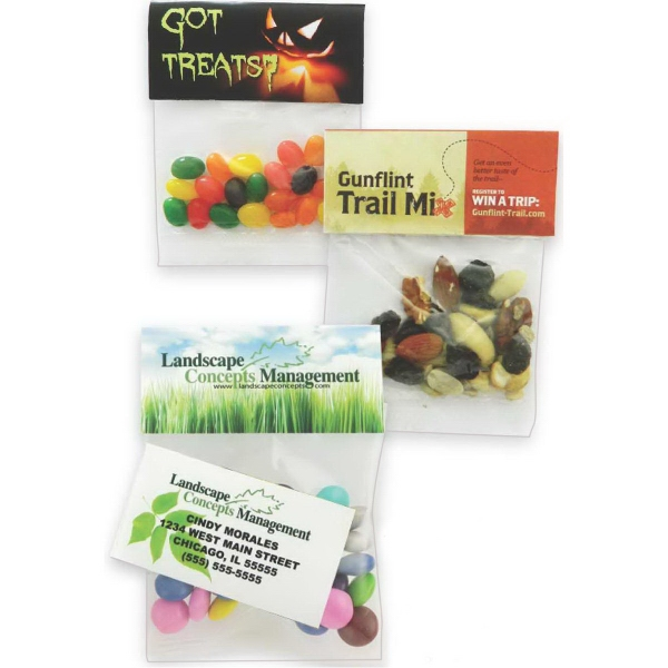 Small Header Bag with Jelly Beans- Assorted