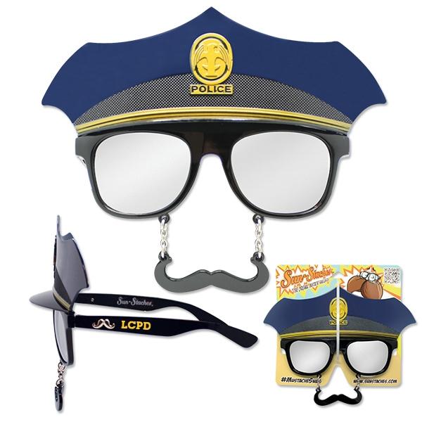 Police Sun-Stache