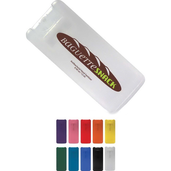 Mini Credit Card Style Antibacterial Hand Sanitizer Spray