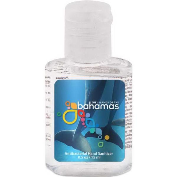 0.5 oz Square Antibacterial Hand Sanitizer Gel