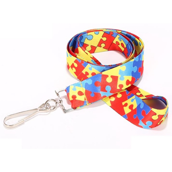 Dye-Sublimation Lanyard - 25 pcs Minimum