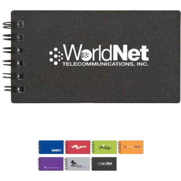 Mini business card jotter bnoticed put a logo on it the mini business card jotter 4 58quot x 2 38quot colourmoves