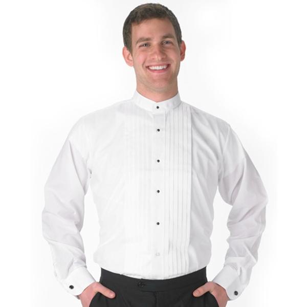 Men's Banded-Collar 1/2