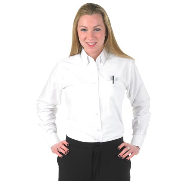 Women's White Oxford Shirt