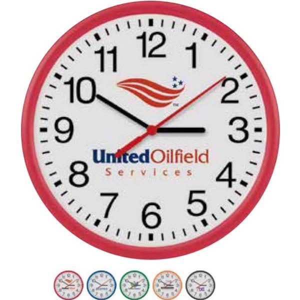"10"" Translucent Wall Clock"