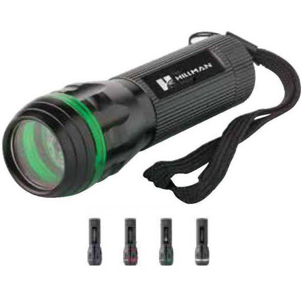 Line light aluminum flashlight