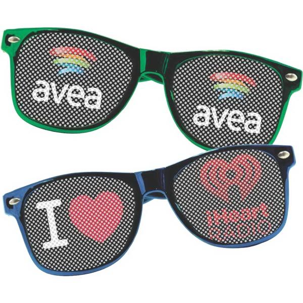 LensTek Metallic Miami Sunglasses