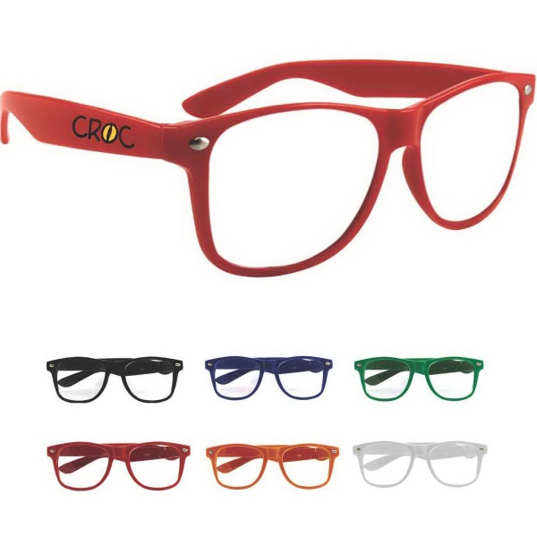 Miami Glasses with Clear Lens