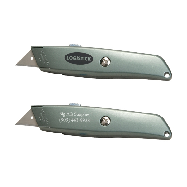 Utility Knife With Retractable Blade