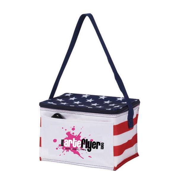 600 Denier Patriotic Cooler Bag