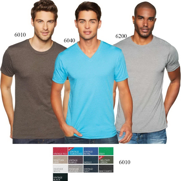 Next Level Apparel Men's Tri-Blend Crewneck Tee