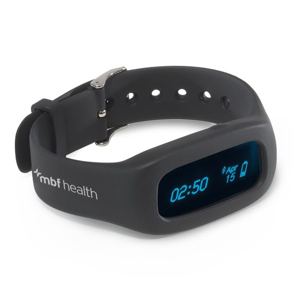 Get Fit Health Tracker - Silicone health tracker.