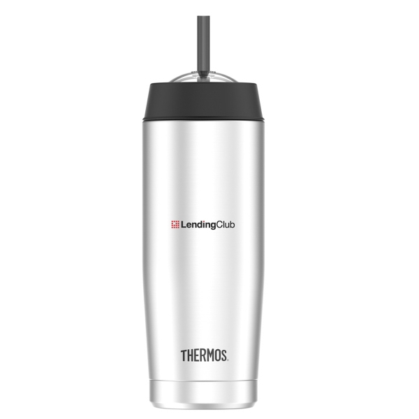 Thermos® Cold Cup with Straw-16 oz.