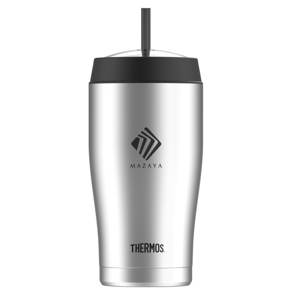 Thermos® Cold Cup with Straw-22 oz.