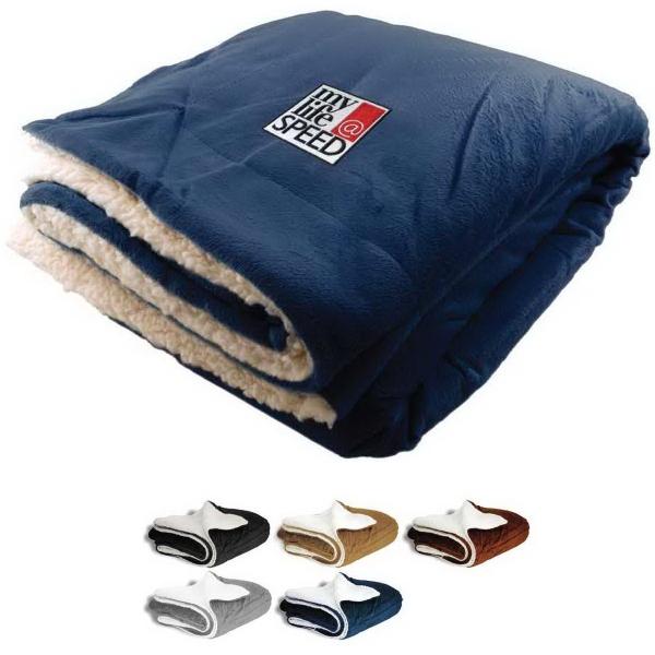Blank Oversized Mink Sherpa Blanket