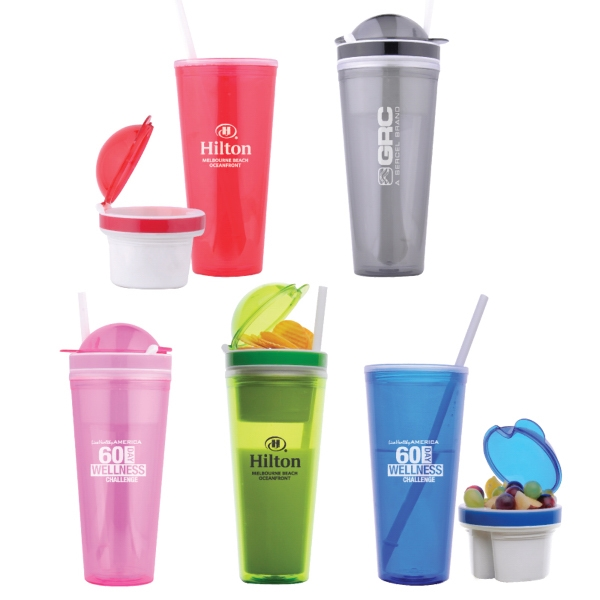 22 oz. Snacker Double Walled Tumbler