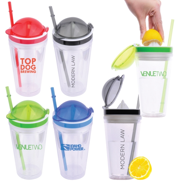 16 oz. Citroen Double Walled Tumbler