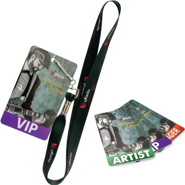 "Press Pass/Lanyard Card - 3"" x 5"""