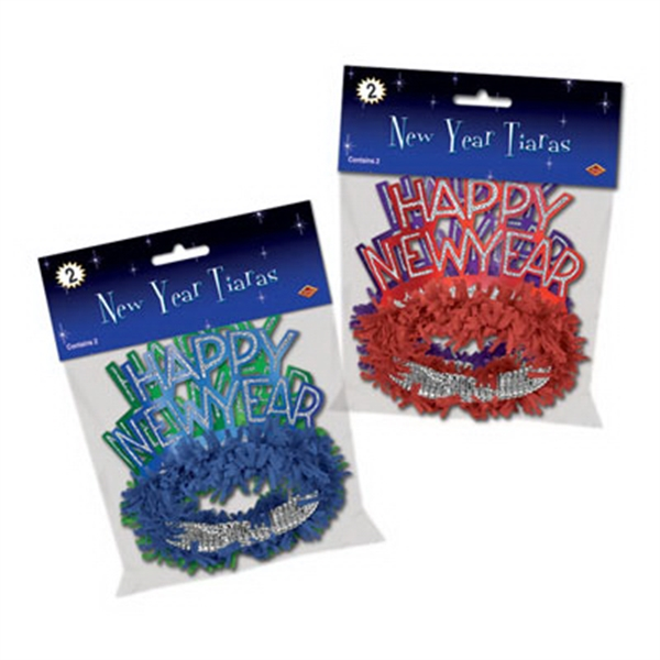 Packaged Happy New Year Regal Tiara