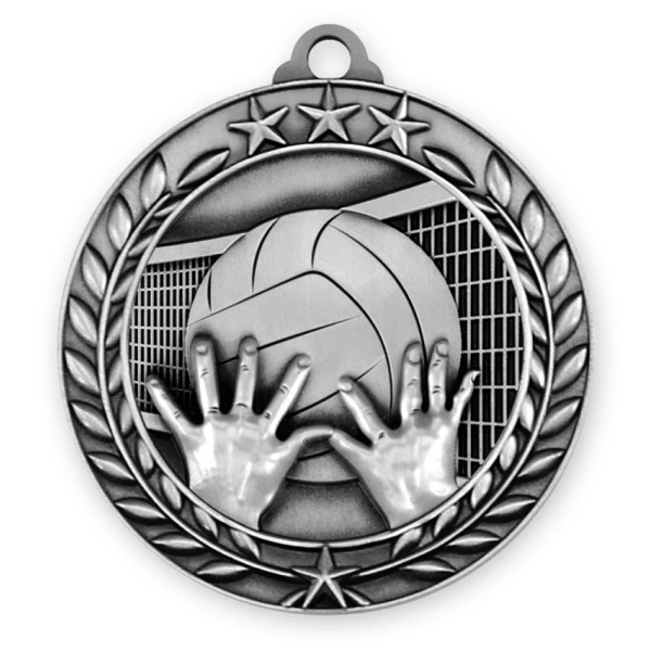 1 3/4'' VOLLEYBALL MEDAL (S)
