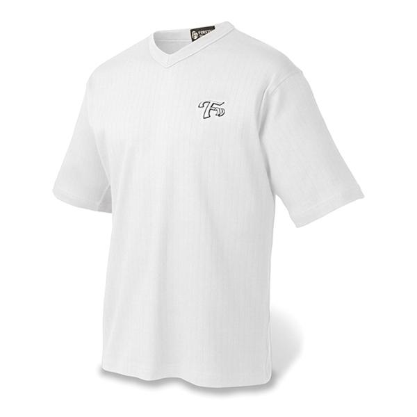 Men's Drop Needle Combed Cotton V-neck SS Sport Shirt