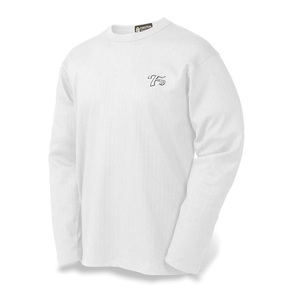 Men's Drop Needle Combed Cotton Crewneck LS Sport Shirt