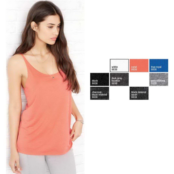 Ladies Slouch Tank Top - Colors