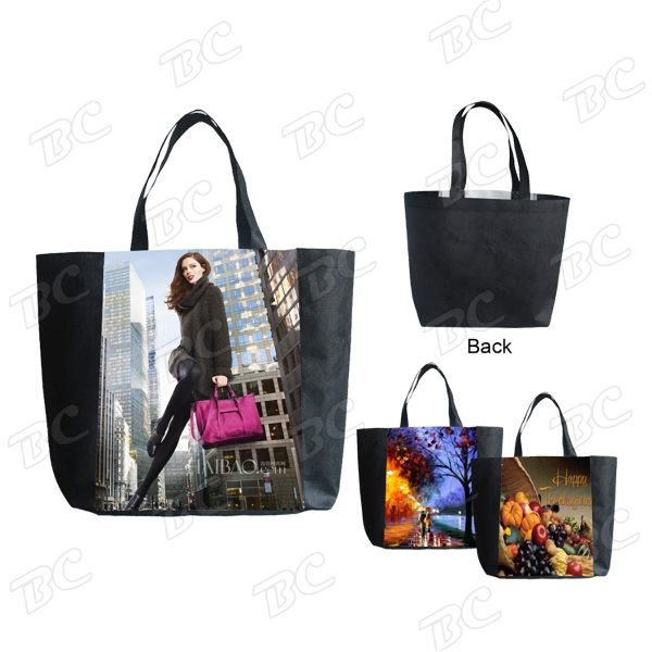80G Dye Sub Full Color Tote Bag