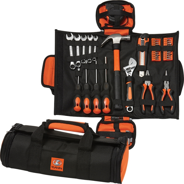 45 Piece Foldable Tool Set