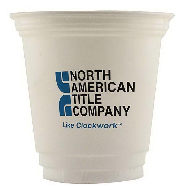 12 oz. Economy White Plastic Cup