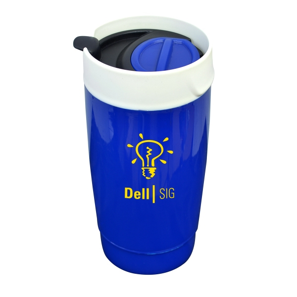 SAMANTHA 16oz DOUBLE WALL PLASTIC TUMBLER