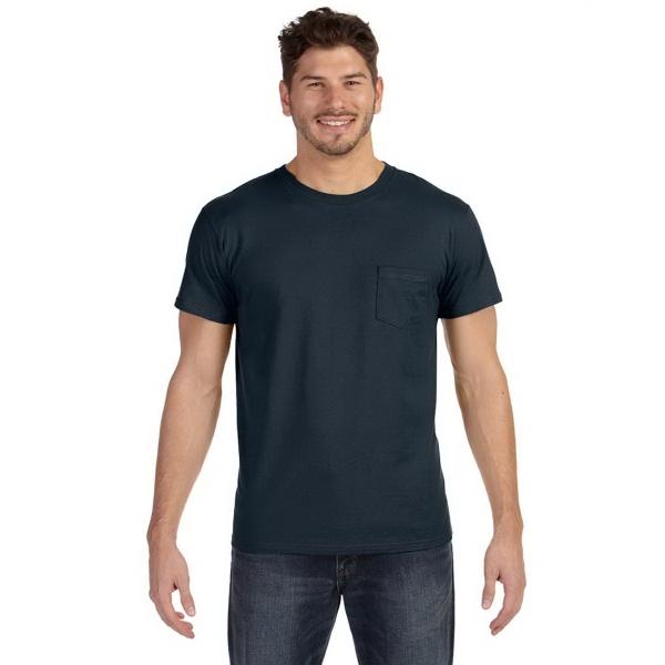 Hanes Adult Nano-T® T-Shirt with Pocket