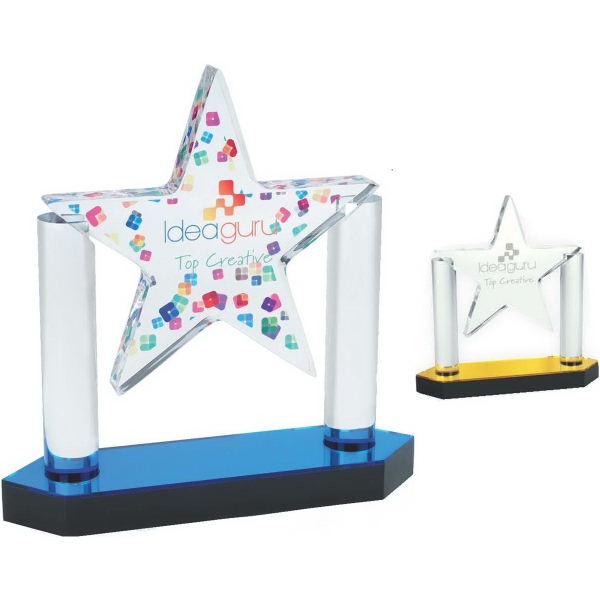 Acrylic Floating Star